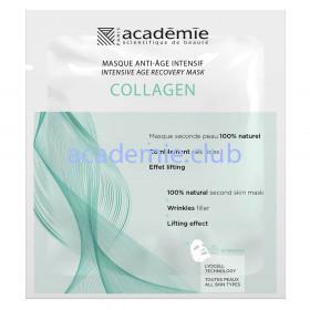 Интенсивная восстанавливающая коллагеновая маска Intense age recovery mask  Academie, 1 шт