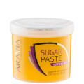 """Сахарная паста для депиляции """"Мягкая и легкая"""" мягкой консистенции Professional Aravia, 750 гр."""
