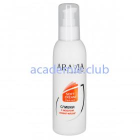 Сливки для восстановления рН кожи с маслом иланг-иланг (флакон с дозатором) Professional Aravia, 150 мл.