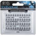 Пучки ресниц безузелковые комбинированные чёрные Duralash Naturals Knot-Free Flairs Combo Pack Black Ardell, 1 уп.