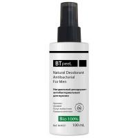 Дезодорант натуральный антибактериальный для мужчин BTpeel, 100 мл