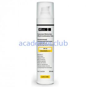 Солнцезащитный увлажняющий крем для жирной и комбинированной кожи SPF-50 UVA/UVB/PA++++ BTpeel, 50 мл