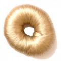 Валик для прически, искусственный волос, блондин Dewal, 8 см.
