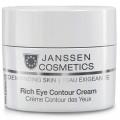 Питательный крем для кожи вокруг глаз Rich Eye Contour Cream Janssen Cosmetics, 15 мл