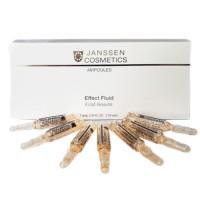 Лифтинг-сыворотка в ампулах с пептидами, стимулирующими синтез эластина Skin Contour Fluid Janssen, 7*2 мл