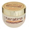 Маска для поврежденных и хрупких волос кератиновая интенсивно восстанавливающая Keratina Kativa, 250 мл.