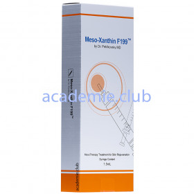 Реструктуризант для реабилитации кожи Мезоксантин Meso-Xanthin F199 1,5 мл