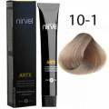 Краcка для волос 10-1 Пепельный светлый блондин Artx Nirvel, 60 мл.