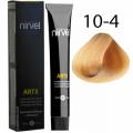 Краска для волос 10-4 Медный очень светлый блондин Artx Nirvel, 60 мл.