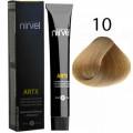 Краcка для волос 10 Очень светлый блондин Artx Nirvel, 60 мл.