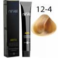 Краска для волос 12-4 Медный суперосветлитель Artx Nirvel, 60 мл.