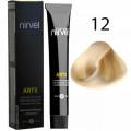 Краска для волос 12 Суперосветлитель натуральный Artx Nirvel, 60 мл.