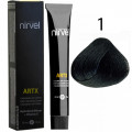 Краcка для волос 1 Черный Artx Nirvel, 60 мл.