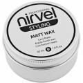 Матирующий воск для завершения укладки волос Matt Wax Nirvel, 50 мл.