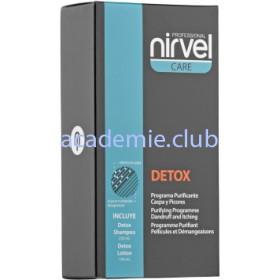 Комплекс против себореи (перхоти) и раздраженной кожи головы Detox Complex Nirvel, 250/150 мл.