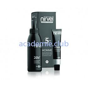 Краситель для волос мужской тёмно-каштановый CT-6 (DARK CHESTNUT) Nirvel, 30 мл + 30 мл 20v