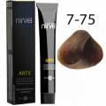 Краска для волос 7-75 Шоколадный средний блондин Artx Nirvel, 60 мл.