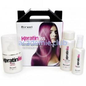 Кератиновый набор для глубокого увлажнения и восстановления волос PACK DEEP MOISTURIZING TREATMENT Nirvel