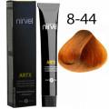Краска для волос 8-44 Интенсивно-медный блондин Artx Nirvel, 60 мл.
