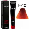 Краска для волос F-40 Медный Fuego Nirvel, 60 мл.