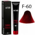 Краска для волос F-60 Красный Fuego Nirvel, 60 мл.