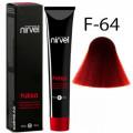 Краска для волос F-64 Красно-медный Fuego Nirvel, 60 мл.
