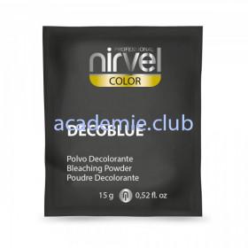 Блондирующая пудра (синяя) - Decoblue Nirvel, 15 гр