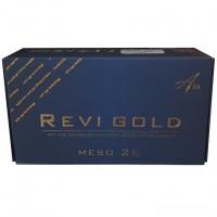 Комплекс с наночастицами золота REVI MESO GOLD 2% (набор 3шт х 2мл), 6 мл