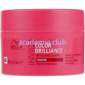 Маска-уход для защиты цвета окрашенных жестких волос Invigo Color Brilliance Wella Professionals, 150 мл.