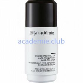 Дезодорант антиперспирант после эпиляции Deodorant Roll-On Anti-Transpirant Post-Epilation Academie, 50мл