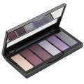 Палетка теней (6 оттенков) 02 Bordeaux/Lilac Eyeshadow Palette Aden