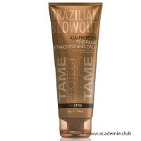 Термоактивный разглаживающий волосы бальзам Protective Thermal Straightening Balm Brazilian Blowout, 240 мл