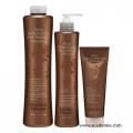 Набор (Очищающий шампунь, 1000гр  + Кератин, 350гр  + Маска, 250гр) для выпрямления волос Brazilian Blowout + ПОДАРОК