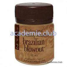 Кератин для выпрямления волос Brazilian Blowout, 40 мл