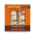Набор укрепляющий шампунь + кондиционер с кератином, Kativa Keratina 2х100мл