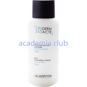 Эмульсия эксфолиант с гликолевой кислотой 15% Nettoyant Exfoliant Quotidien 15% Academie, 250мл